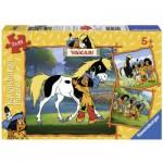 Puzzle  Ravensburger-09341 Yakaris beste Freunde