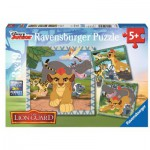 Ravensburger-09348 3 Puzzles - The Lion Guard