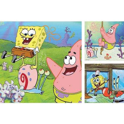 Puzzle Ravensburger-09378 Sponge Bob und Freunde