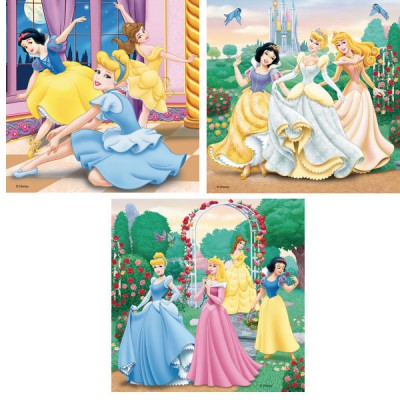Puzzle Ravensburger-09411 Prinzessinnenträume
