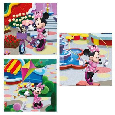 Puzzle Ravensburger-09416 Hübsche Minnie Mouse