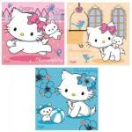 Puzzle  Ravensburger-09422 Hello Kitty: Charmmy Kitty und ihr bester Freund