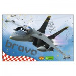 Puzzle  Ravensburger-09474-9 Planes - Bravo