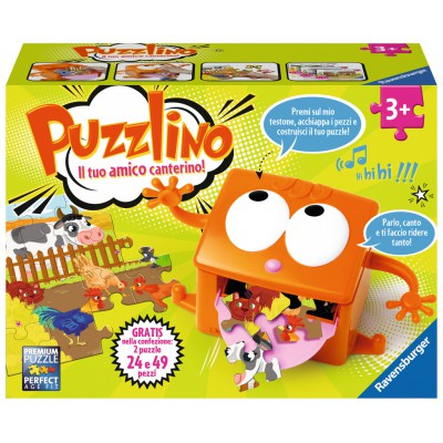 Puzzle Ravensburger-09661 Puzzlino