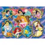 Puzzle  Ravensburger-09752 Disney: Die schönsten Prinzesinnen