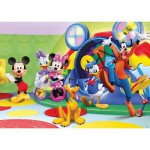 Puzzle  Ravensburger-09756 Mickey Mouse: Club House