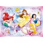 Puzzle  Ravensburger-09769 Glückliche Prinzessinnen