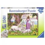 Puzzle  Ravensburger-10008 Schöne Prinzessin