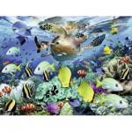 Puzzle  Ravensburger-10009 Unterwasserparadies