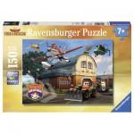 Puzzle  Ravensburger-10013 XXL Teile - Disney Planes: Erfolgreiches Rettungsteam