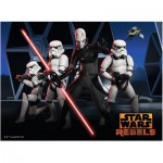 Puzzle  Ravensburger-10017 Star Wars: Die Rebellen