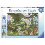 Puzzle  Ravensburger-10022 XXL Teile - Ausflug der Drachen