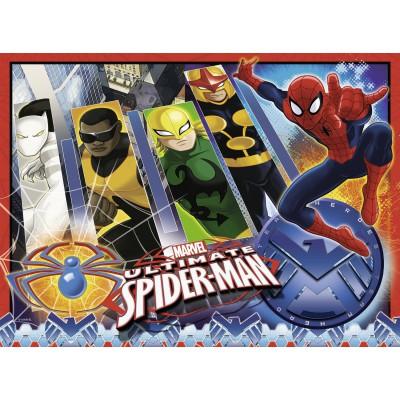Puzzle Ravensburger-10529 Spiderman und sein Team