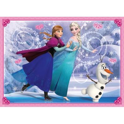 Puzzle Ravensburger-10579 Frozen - Die Eiskönigin