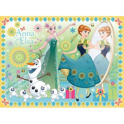 Puzzle Ravensburger-10584 Disney Frozen - Die Eiskönigin