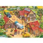 Ravensburger-10613 XXL Puzzleteile - Lustiger Bauernhof