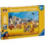 Puzzle  Ravensburger-10626 Yakari hat Spaß