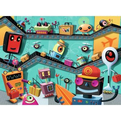 Puzzle Ravensburger-10686 XXL Teile - Robots