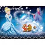 Puzzle  Ravensburger-10688 Disney-Prinzessinnen: Cinderella und ihre Freunde