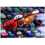 Ravensburger-10721 Puzzle 100 Teile XXL - Cars: Autos Autos !