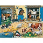 Puzzle  Ravensburger-10743 Am Stall