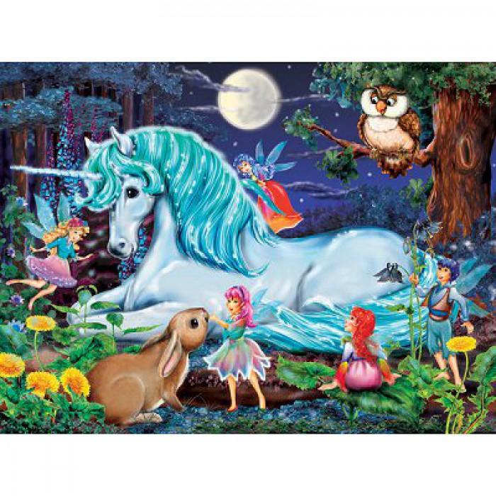 XXL Puzzleteile - Im Zauberwald