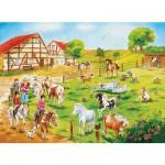 Puzzle  Ravensburger-10820 Ponyhof