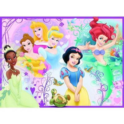 Puzzle Ravensburger-10857 Disney-Prinzessinnen: Schöne Prinzessinnen