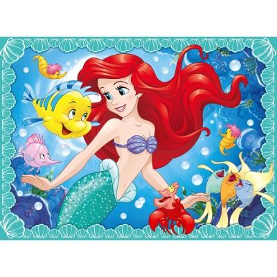 Puzzle Ravensburger-10858 XXL Teile - Arielle die Meerjungfrau