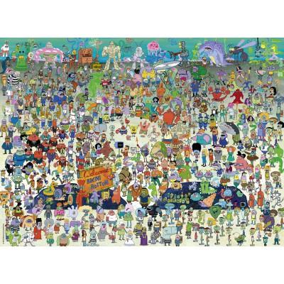 Puzzle Ravensburger-10862 XXL Teile - SpongeBob