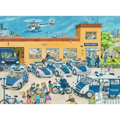 Puzzle Ravensburger-10867 Polizeirevier