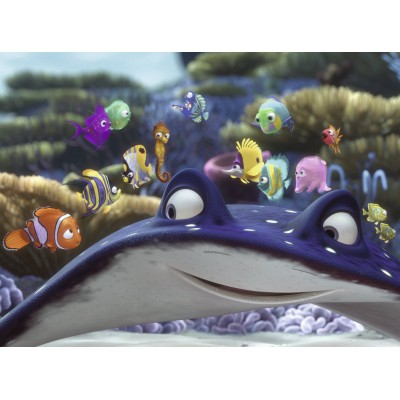Puzzle Ravensburger-10912 Nemo und seine Freund