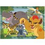 Puzzle  Ravensburger-10922 XXL Teile - Kion und seine Freunde