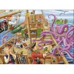 Puzzle  Ravensburger-10939 XXL Teile - Piraten