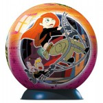 Ravensburger-11056 Puzzleball- Kim Possible