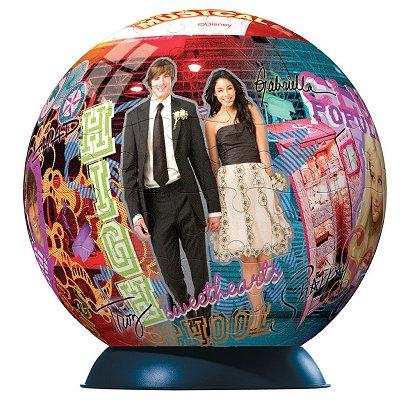 Ravensburger-11330 96 Teile Puzzleball - High School Musical