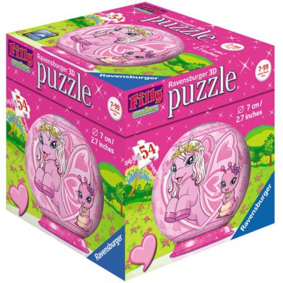 Ravensburger-11873-01 3D Puzzle - Filly Butterfly