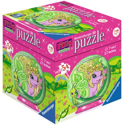 Ravensburger-11873-02 3D Puzzle - Filly Butterfly