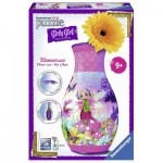 Ravensburger-12077 3D Puzzle - Girly Girls Edition - Blumenvase Fairy