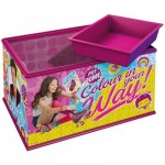Ravensburger-12090 3D Puzzle - Girly Girls Edition - Aufbewahrungsbox Soy Luna