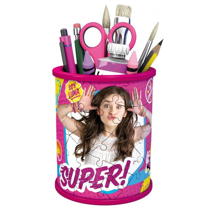 3D Puzzle - Girly Girls Edition - Utensilo Soy Luna
