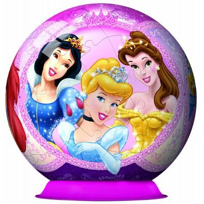 Ravensburger-12130 3D Puzzle - Disney Princess