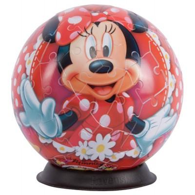 Ravensburger-12139 Puzzleball - Minnie