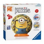 Ravensburger-12161 3D Puzzle - Minions