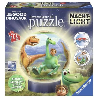 Ravensburger-12167 3D Puzzle - Nachtlicht - Arlo und Spot