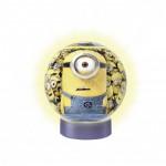 Ravensburger-12180 3D Puzzleball - Nachtlicht - Minions