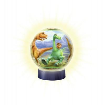 Ravensburger-12182 3D Puzzleball - Nachtlicht - Arlo und Spot