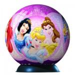 Ravensburger-12208 108 Teile Puzzleball - Disney Prinzessinnen