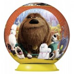 Ravensburger-12216 3D Puzzle - The Secret Life of Pets