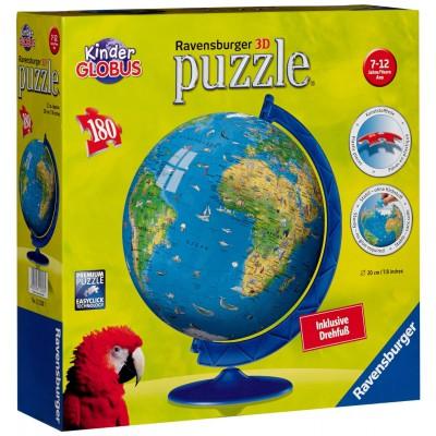 Ravensburger-12326 Puzzleball - Kinderglobus